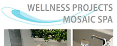 Wellness projects, mosaic SPA