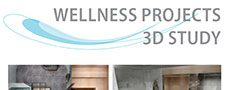 Wellness projects, 3D study